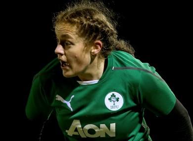 Ex-Ireland women's rugby captain Fiona Coghlan.