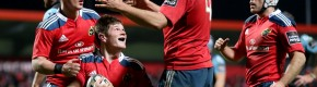 Munster move ahead of Glasgow into top spot of Pro12 with bonus point win
