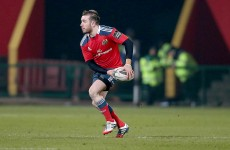Hanrahan starts as Munster welcome Warriors, Connacht shuffle backs to take on Treviso