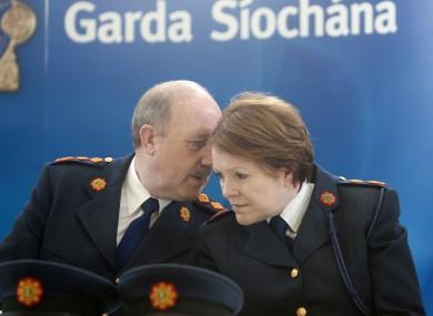 Martin Callinan and Nóirín O'Sullivan