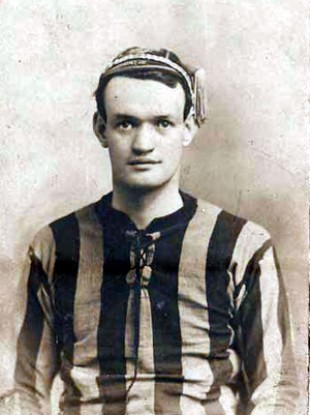 Patrick O'Connell in his playing days.
