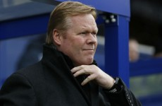 Van Gaal 'wasting energy' with long-ball debate, says Koeman
