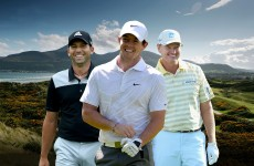 Sergio Garcia and Ernie Els to join Rickie Fowler and Rory McIlroy at the Irish Open