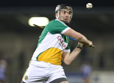 Shane Dooley was Offaly's scoring star tonight.