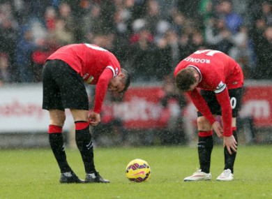 United performed poorly last time out against Swansea.