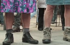 Here's why Turkish men are protesting while wearing mini skirts