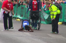 Watch this heroic woman crawling to the finish line of a marathon (and still come 3rd)