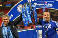 Mourinho throws water bottles when we're winning – Terry lifts lid on Chelsea dressing room