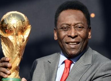 Pele believes the future belongs to Messi.
