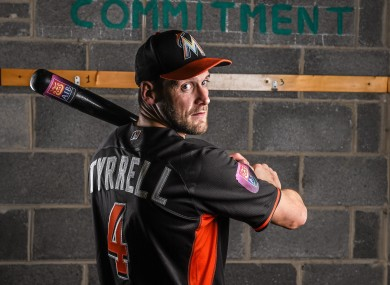 Tyrrell recently spent time with the Miami Marlins.