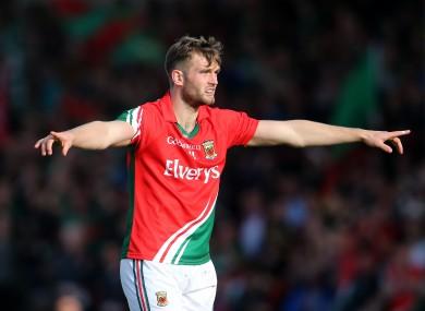 Mayo's Aidan O'Shea was amongst their goalscorer today.