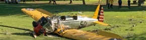 Actor Harrison Ford injured after California plane crash