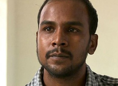 Mukesh Singh, one of the four men sentence to death over the attack.