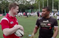 BOD met the greatest ever Sevens magician and impressed him with an audacious bit of skill