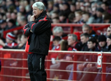 Four defeats and a draw for Derry boss Brian McIver (file photo).