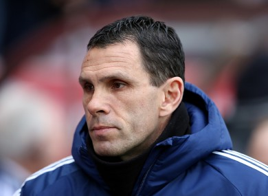 Poyet has left the Black Cats fourth from bottom.