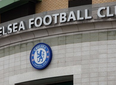Stamford Bridge, the home of Chelsea.