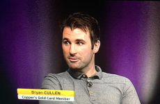 Setanta Sports had the perfect caption to troll Dublin's Bryan Cullen last night