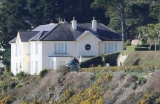 Brian O'Donnell has until 4pm today to leave this Killiney mansion