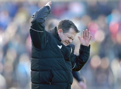Davy Fitzgerald saw his side lose a third successive game today.
