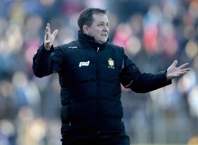 Davy Fitzgerald has more problems on his hands as he battles to keep Clare in hurling's top flight