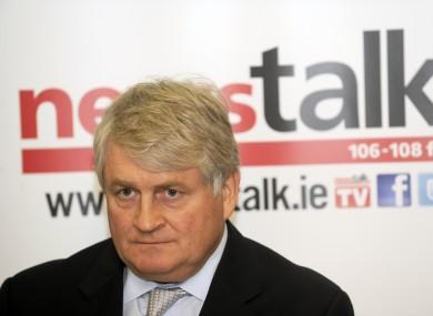 Irish media and telecoms tycoon Denis O'Brien