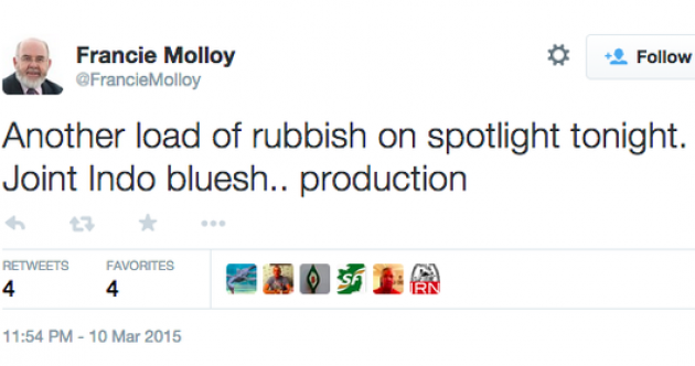 Sinn Féin MP apologises for controversial 'load of rubbish' tweet