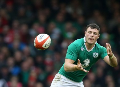Robbie Henshaw is basking in Ireland's success.
