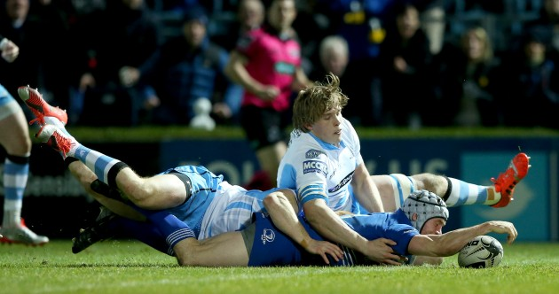 Leinster come from 20 down to share eight tries in thrilling draw with Glasgow