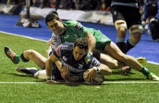 Late Cardiff try gives Connacht the Blues