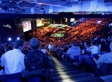 The 3Arena hosted the UFC in 2009 and 2014.