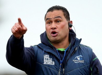 Lam gave the most entertaining interview in Pro12 history after Friday night's match.