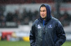 Connacht coach Pat Lam fined €8,000 for referee outburst