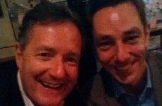 Piers Morgan went on the lash with Ryan Tubridy after last night's Late Late Show