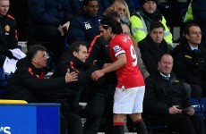 Falcao misfires again… for Manchester United's U21s