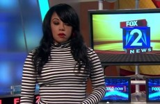 TV reporter reacts hilariously to colleague's sly dig about her outfit