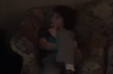 This young boy is trapped in his own personal hell at a girl's birthday party