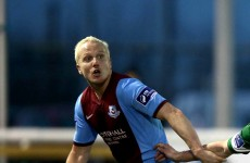 A gorgeous late free kick from a prodigal son rescued a point for Drogheda United