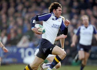 Shane Horgan finished off a spectacular try early on for Leinster.