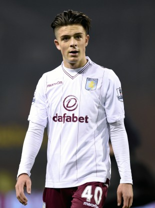 Grealish has appeared sporadically for Villa this season.