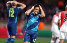 As it happened: Monaco v Arsenal, Champions League