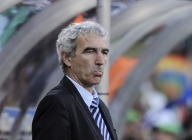 Raymond Domenech previously managed France.