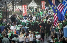 A stolen police golf cart and naked swimming: St Patrick's Day arrests in the US