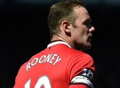 Wayne Rooney endured a frustrating afternoon against his former club.