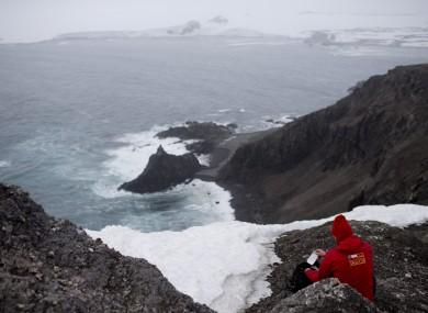 File photo of the South Shetland Islands archipelago, Antarctica.