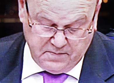 Michael Noonan speaking in the Dáil (File photo)
