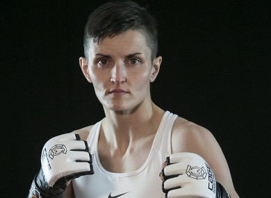 Undefeated Irish MMA star Catherine Costigan.