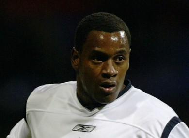 Former Bolton Wanderers player Delroy Facey.