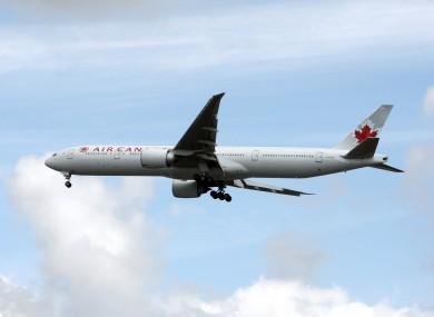 An Air Canada Boeing 777