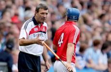 Door open for O'Sullivan Cork hurling return but 2015 ruled out for defender Egan